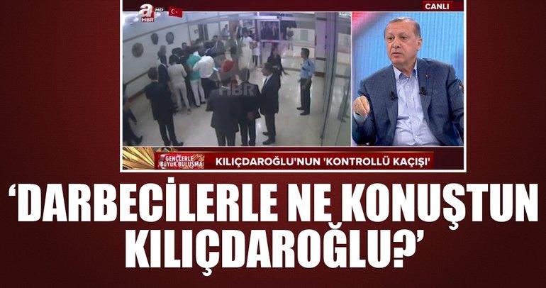 Darbecilerle ne konuştunuz Kılıçdaroğlu