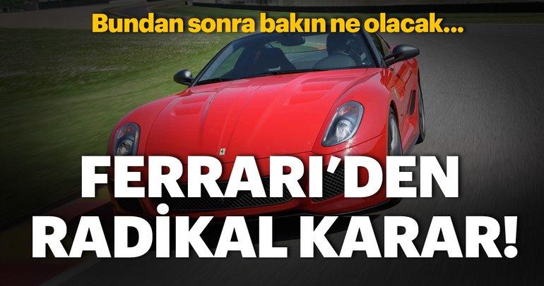 Ferrari'nin tüm araçları neredeyse hibrit olacak