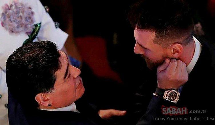 Maradona'dan Messi'ye flaş eleştiri: Her maçtan önce 20 kez...