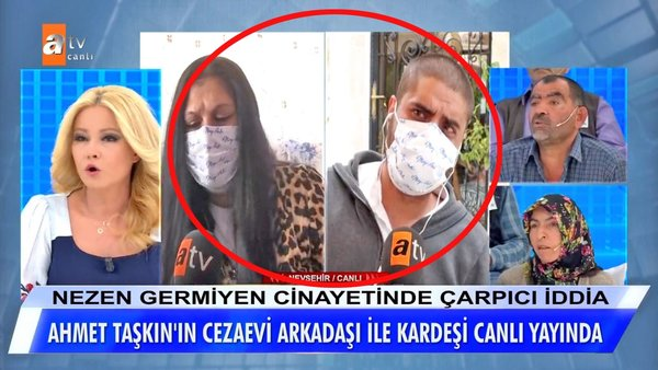 Müge Anlı'da Nezen Germiyen cinayeti itirafı olayında son dakika! Cezaevi arkadaşından Müge Anlı'da şok açıklamalar...