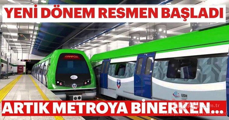 Metrolarda yeni dönem resmen başladı! Artık metroya binerken...