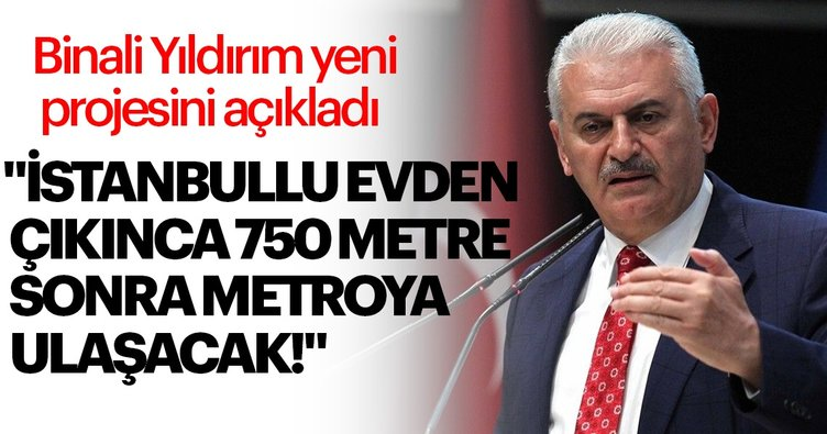 'Her İstanbullu 750 metrede metroya ulaşacak'