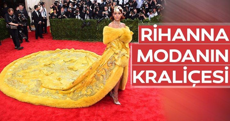 Rihanna modanın kraliçesi