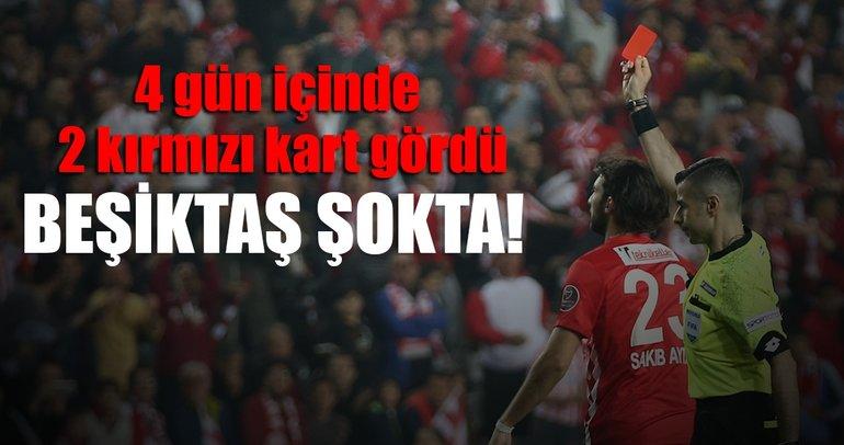 Beşiktaş 10 kişi kaldı!