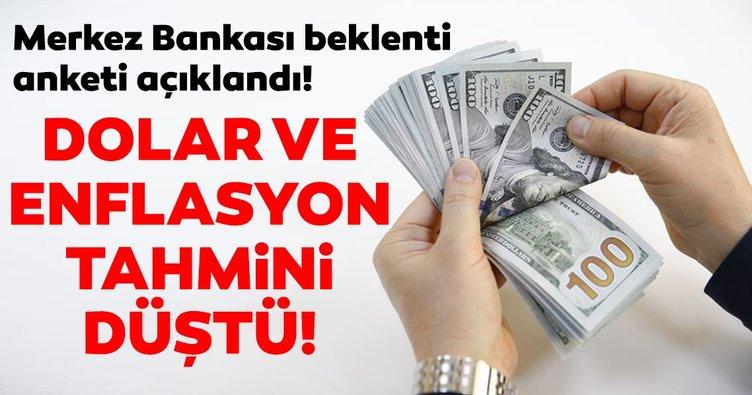 Merkez Bankası'nın yıl sonu dolar ve enflasyon tahmini geriledi!