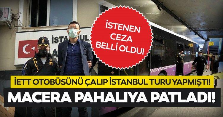 Son dakika: İETT otobüsünü çalıp İstanbul turu yapmıştı! O şehir eşkıyası şimdi yandı...