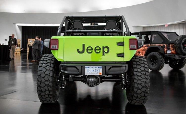 2017 Jeep Wrangler Trailcat Concept
