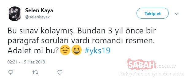 YKS soru yorumları burada! 2019 YKS TYT Türkçe ve Matematik soruları zor muydu kolay mıydı? İşte TYT soruları detayları