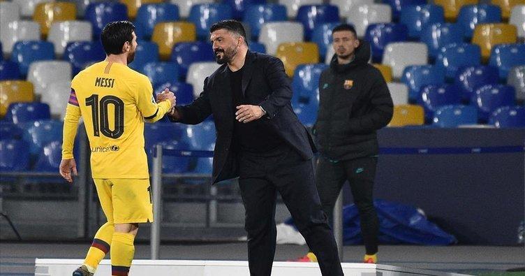 Napoli Teknik Direktörü Gattuso'dan Messi itirafı!