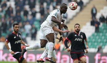 Gençlerbirliği devam Bursaspor tamam