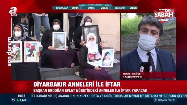 Başkan Erdoğan, Diyarbakır anneleri ile iftar yapacak | Video