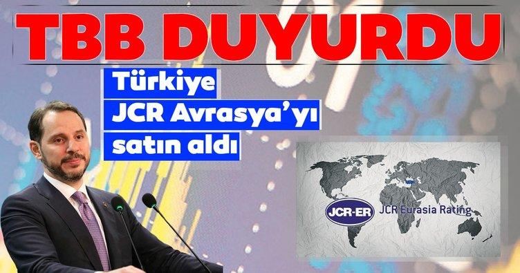 Türkiye JCR Avrasya'yı satın aldı