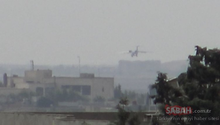 Rejimin kontrolündeki Kamışlı'ya inen kimliği belirsiz kargo uçağı görüntülendi