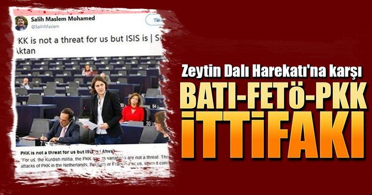Zeytin Dalı Harekatı'na karşı BATI-FETÖ-PKK ittifakı