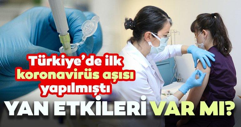 Türkiye'de 20 gönüllü aşılandı! Corona virüs aşısının yan etkileri var mı?