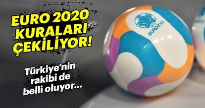 EURO 2020 Eleme Grupları belli oluyor! Türkiye'nin rakibi...