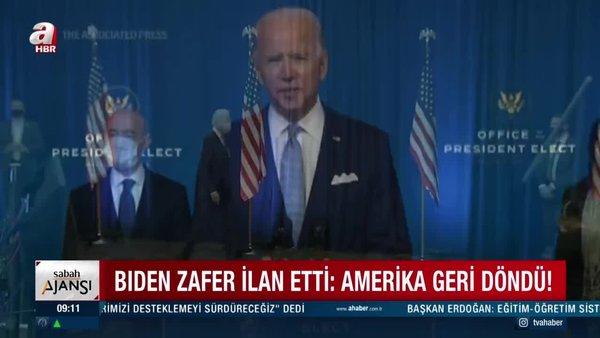 Son Dakika: ABD seçim sonuçları kesinleşiyor! Joe Biden'ın kabinesi nasıl olacak? | Video