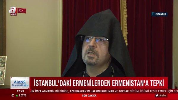 İstanbul'daki Ermenilerden Ermenistan'a tepki | Video