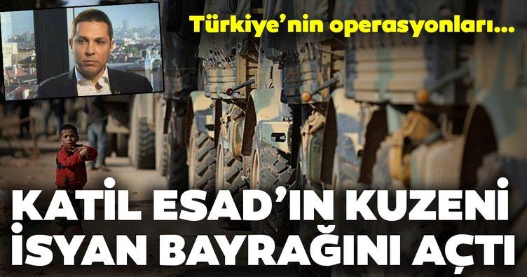Son Dakika Haberi: Katil Esad'ın yeğeni isyan bayrağını açtı! Türkiye'nin operasyonları sonrası...