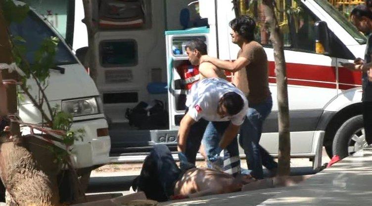 Sancaktepe'de soyguncular polisle çatıştı
