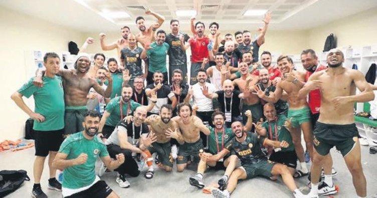 Konyaspor başladı Alanyaspor bitirdi