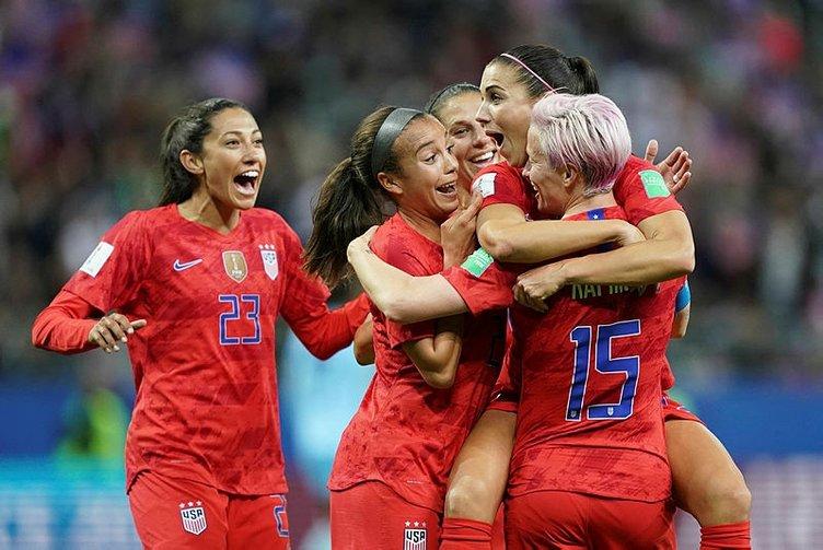 Kadınlar Dünya Kupası'nda tarihi sonuç: ABD 13-0 Tayland