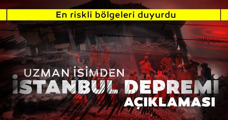Uzman isimden son dakika İstanbul depremi açıklaması: Olası büyük depremde riskli bölgeleri açıkladı!