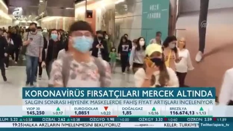 Koronavirüs fırsatçıları mercek altında