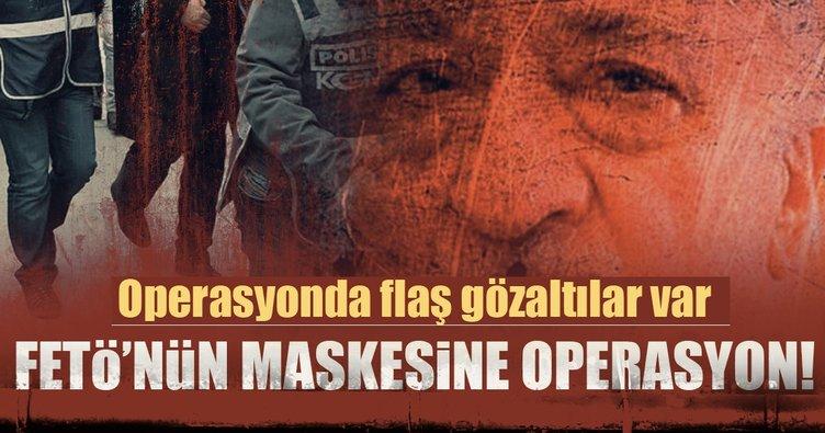 Antalya'da FETÖ'nün maskesine operasyon!
