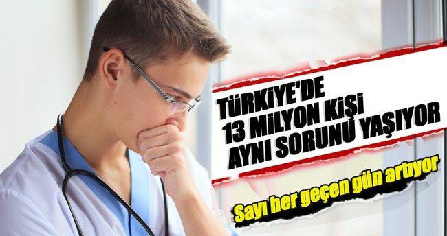Türkiye'de 13 milyon reflü hastası var