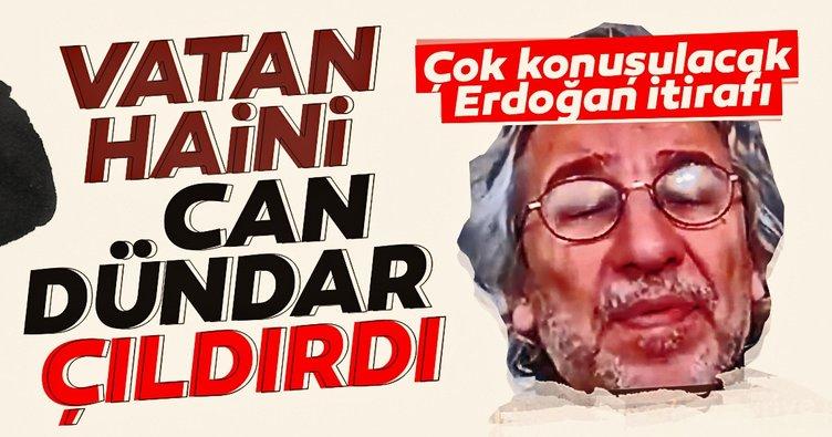 Türkiye ve Başkan Erdoğan'ın başarısı vatan haini Can Dündar'ı çıldırttı! Çok konuşulacak itiraf...