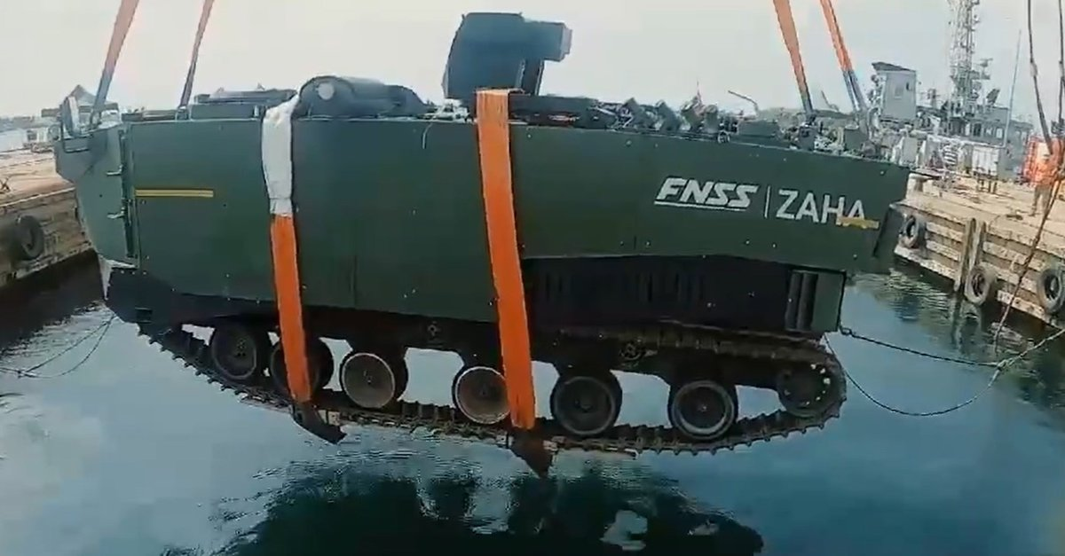 Testi başarıyla geçti: 'ZAHA' Türkiye'nin denizlerdeki gücü olacak!