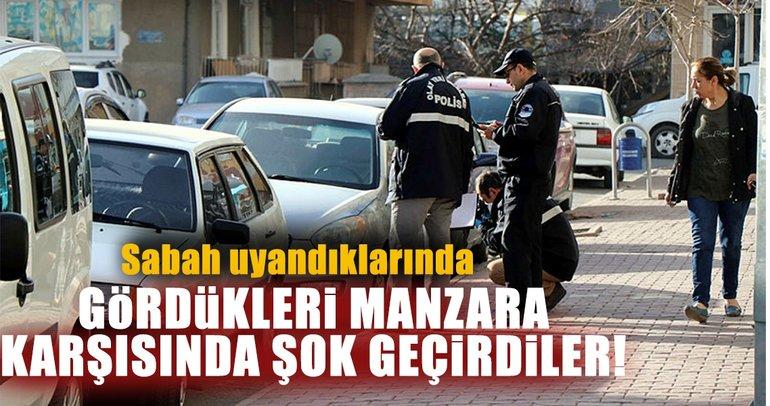 Son dakika: Kayseri'de vatandaşlara 'kesik lastik' şoku