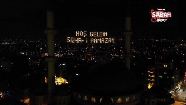 Taksim Camii mahyalar ile süslendi | Video