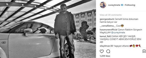 Ünlü isimlerin Instagram paylaşımları (02.01.2018)