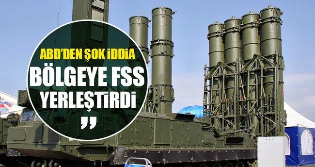 ABD'den Rusya hakkında flaş iddia: FSS yerleştirdi!