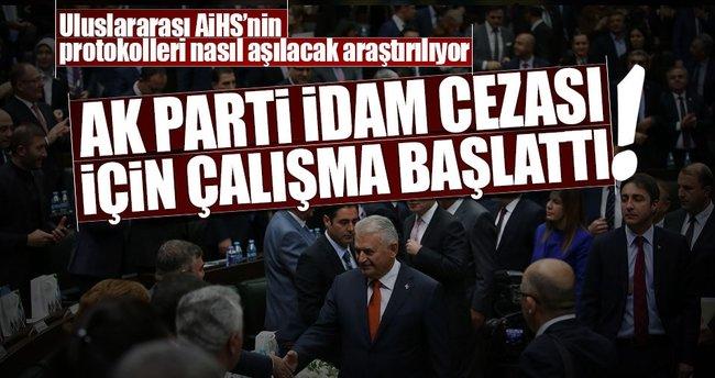 AK Parti idam cezası için çalışma başlattı