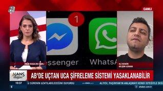 Avrupa Birliği AB,WhatsApp'taki şifreleme sistemini yasaklayacak mı? | Video