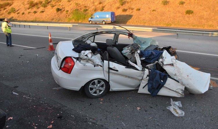 Düğünlerine hazırlanan çifti kaza ayırdı: 3 ölü, 2 yaralı