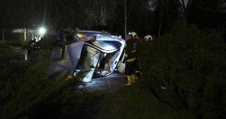 Başkentte trafik kazası: 2 ölü, 2 yaralı