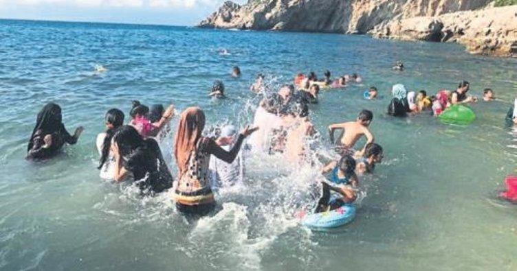 Suriyeli yetimler tatil keyfi yaşadı