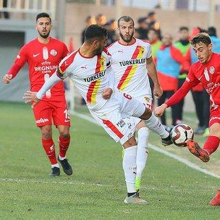 MAÇ SONUCU Göztepe 2 - 2 Antalyaspor