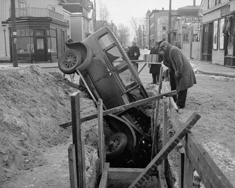 Geçmişteki garip trafik kazaları