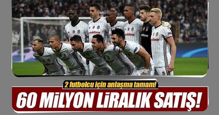 Beşiktaş'ta 2 yıldız satılıyor!
