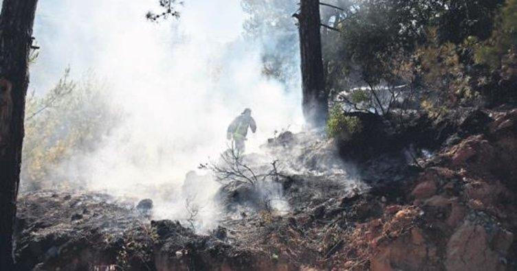 Orman yangınına erken müdahale