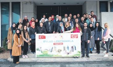 Bosnalı gençlere Türkiye'de tarih turu