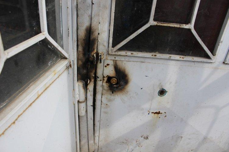 Düşünceli hırsızlar kapıyı kapatmayı unutmadı
