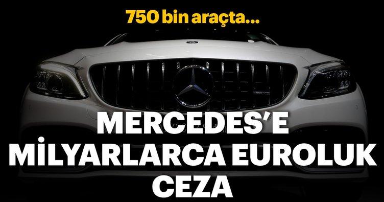 Mercedes'e milyarca euroluk emisyon cezası