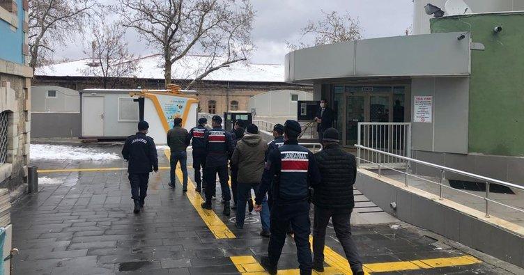 Jandarma jasat timleri operasyonu ilekoyun ve kuzuları çalan hırsızlar yakalandı