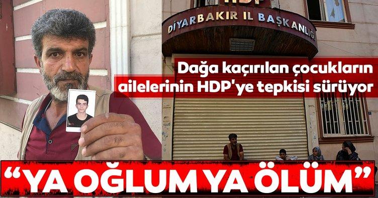 Dağa kaçırılan çocukların ailelerinin HDP'ye tepkisi sürüyor... Yusuf Begdaş: Ya oğlum ya ölüm